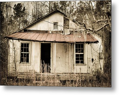 Little House From Yesteryear #2 Metal Print by Andrew Crispi