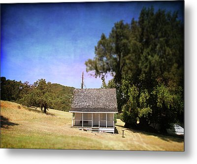 Little House Metal Print by Laurie Search