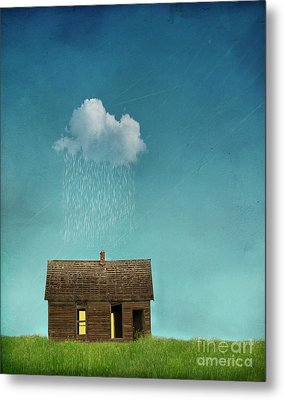Metal Print featuring the photograph Little House Of Sorrow by Juli Scalzi
