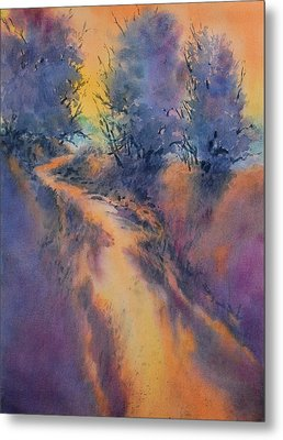 Little Joshua Creek No 3 Metal Print by Virgil Carter