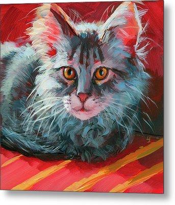 Little Meow Meow Metal Print