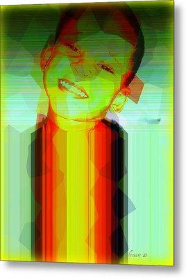 Little Obama Metal Print by Fania Simon