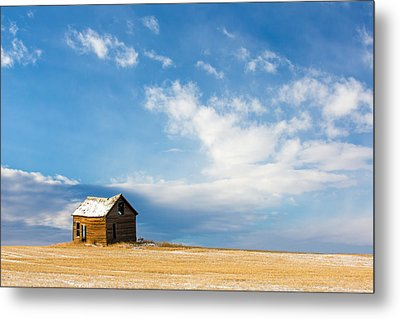 Little Old House Metal Print by Todd Klassy