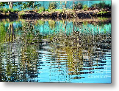 Metal Print featuring the photograph Little Ripples By Kaye Menner by Kaye Menner