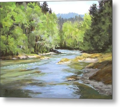 Little River Morning Metal Print