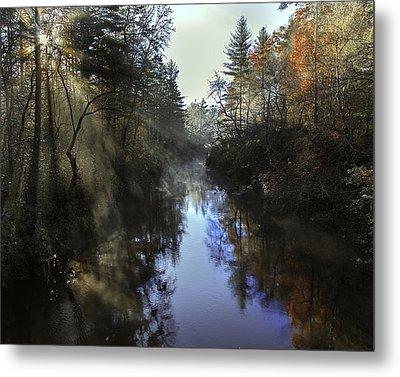 Little River Sunrise Metal Print