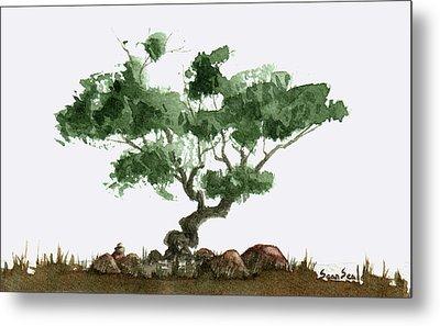 Little Tree 2 Metal Print by Sean Seal