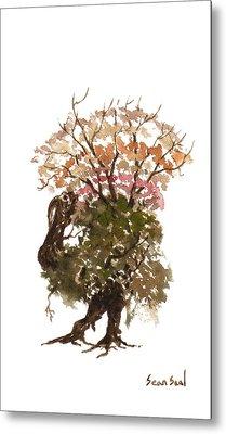 Little Tree 67 Metal Print by Sean Seal