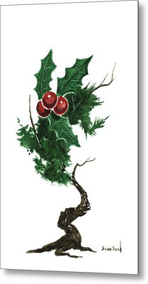 Little Tree 96 Metal Print by Sean Seal