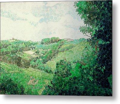Little Tuscan Valley Metal Print by Jason Charles Allen