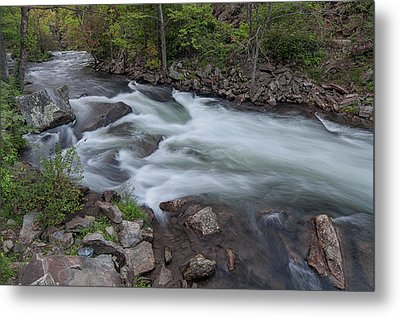 Little Wesser Falls Metal Print
