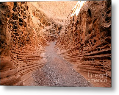 Little Wild Horse Canyon Metal Print by Andrew Serff