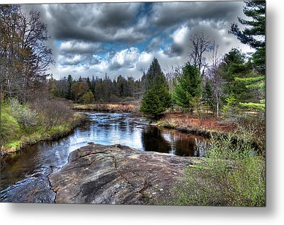 Big Woodhull Creek Metal Print