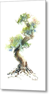 Little Zen Tree 1692 Metal Print by Sean Seal