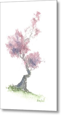 Little Zen Tree 1981 Metal Print by Sean Seal