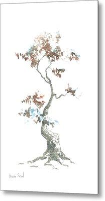 Little Zen Tree 444 Metal Print by Sean Seal