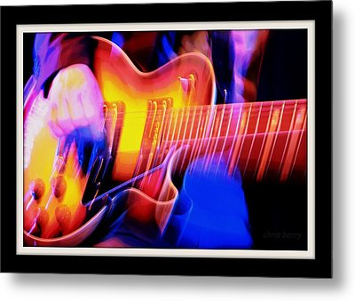 Metal Print featuring the photograph Live Music by Chris Berry