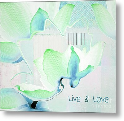 Metal Print featuring the photograph Live N Love - Absf15 by Variance Collections