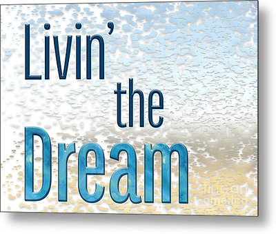 Livin' The Dream Metal Print by Terry Weaver