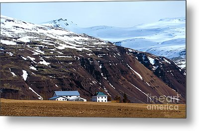 Living In Iceland Metal Print by Svetlana Sewell