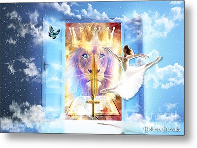 Living Word Of God Metal Print by Dolores Develde