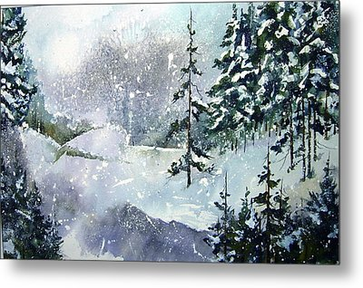 Lket It Snow - Let It Snow Metal Print