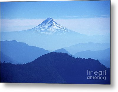 Llaima Volcano Chile Metal Print by James Brunker
