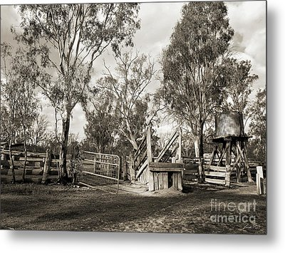 Metal Print featuring the photograph Loading Ramp by Linda Lees