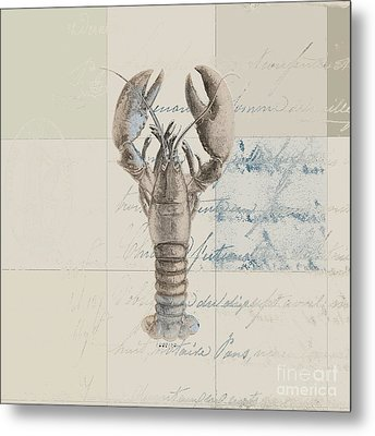 Lobster - J122129185-1212 Metal Print by Variance Collections