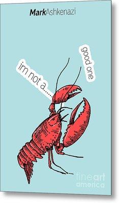 Lobster Metal Print
