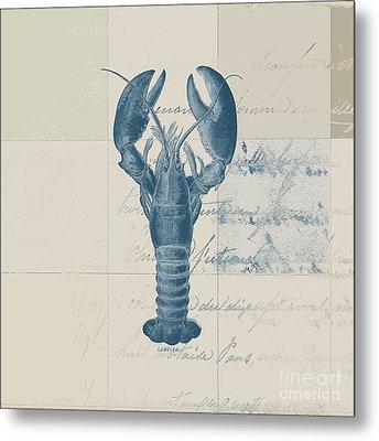 Lobster - J122129185-1211 Metal Print