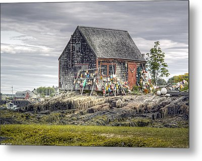 Metal Print featuring the photograph Lobsterman's Shack Of Mackerel Cove by Richard Bean