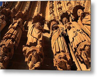 Local Saints At The Western Entrance Metal Print by Aidan Moran