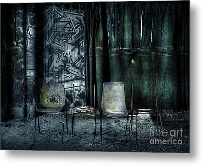 Local Theatre Metal Print by Svetlana Sewell