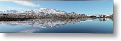 Metal Print featuring the photograph Loch Droma Panorama by Grant Glendinning