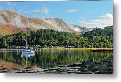 Metal Print featuring the photograph Loch Leven Glencoe by Grant Glendinning