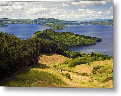 Loch Lomond From Conic Hill Metal Print by John McKinlay