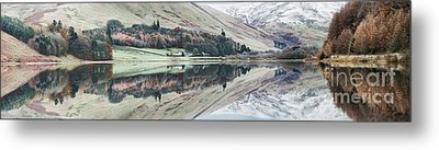 Loch Of The Lowes Panoramic Metal Print by Tim Gainey