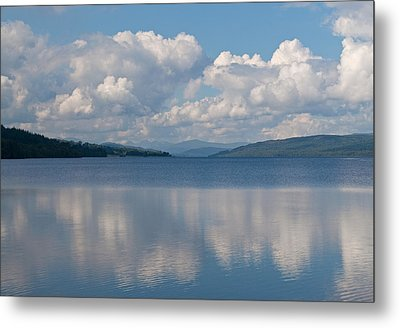 Loch Rannoch Clouds Metal Print by Chris Thaxter