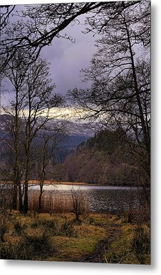 Metal Print featuring the photograph Loch Venachar by Jeremy Lavender Photography