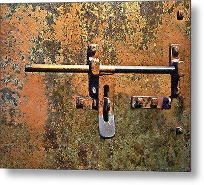 Locked And Loaded Metal Print