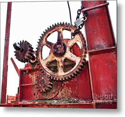 Metal Print featuring the photograph Locked In History by Stephen Mitchell