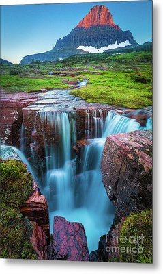 Logan Pass Abyss Metal Print