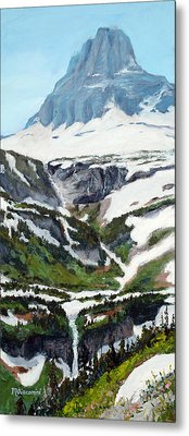Logan Pass Metal Print
