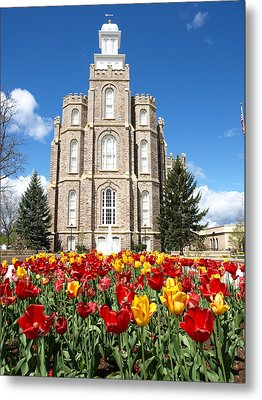 Logan Temple Metal Print by DeeLon Merritt