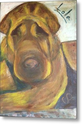 Lola In Memory Metal Print by Carolyn Donnell