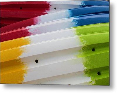 Lolipop Kayaks Metal Print