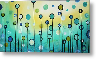 Lollipop Field By Madart Metal Print by Megan Duncanson