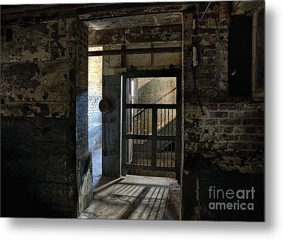 Lonaconing Light Metal Print by Terry Rowe