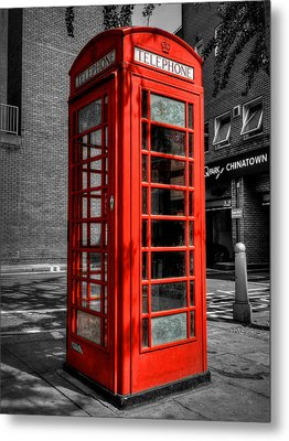 London 040 Metal Print by Lance Vaughn